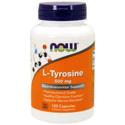 Now Foods L-Tyrosine 500 mg (120 kapszula)