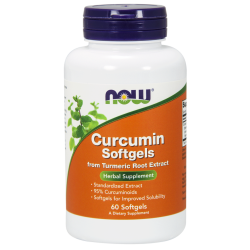 Now Foods Curcumin Softgels (60 gélkapszula)