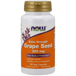 Now Foods Grape Seed Extra Strength 250 mg (90 növényi kapszula)