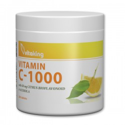 Vitaking Vitamin C-1000 w Citrus Bioflavonoid (200 tabletta)