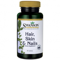 Swanson Hair, Skin & Nails (60 tabletta)