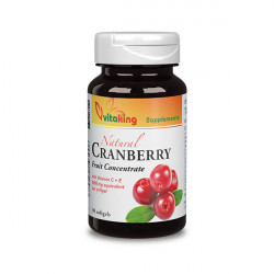 Vitaking Cranberry Concentrate w Vitamin C+E (90 gélkapszula)