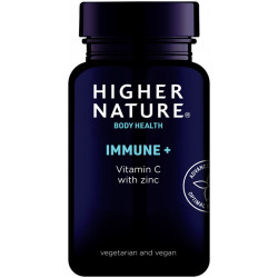 Higher Nature Immune+ Vitamin C with zinc (90 db tabletta)