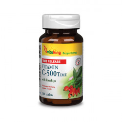 Vitaking Vitamin C-500 Time Release w Rosehips (100 tabletta)