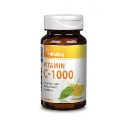 Vitaking Vitamin C-1000 w Citrus Bioflavonoid (30 tabletta)
