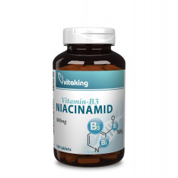 Vitaking Vitamin-B3 Niacinamid 500 mg (100 tabletta)
